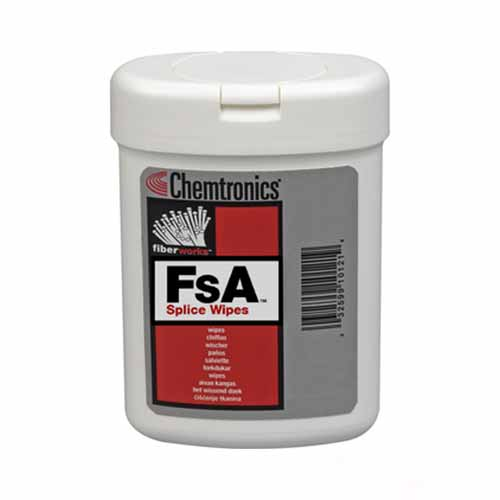 Chemtronics IPA Fibre Cleaning Wipes
