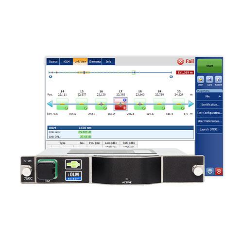 FTBx-750C | Metro/long-haul OTDR | EXFO 2