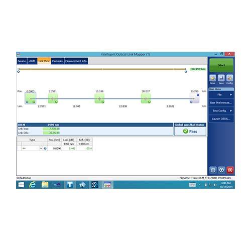 iOLM | Intelligent Optical Link Mapper | EXFO Image 1