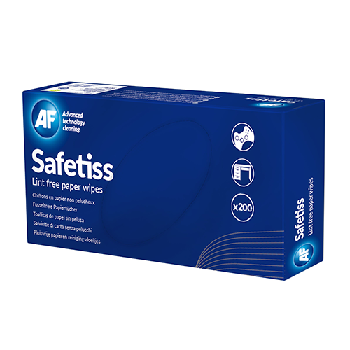 Safetiss Lint Free Paper Wipes 2