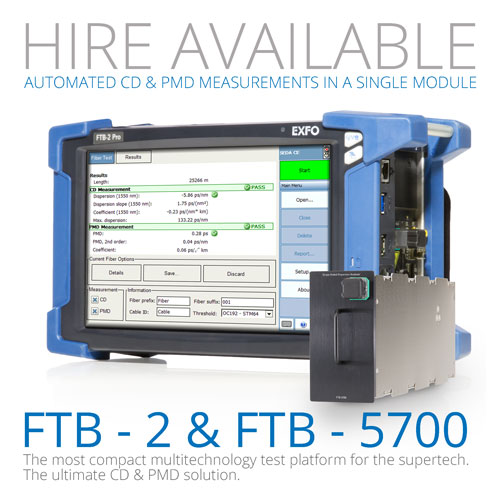 FTB-2 + FTB-5700 Hire Available
