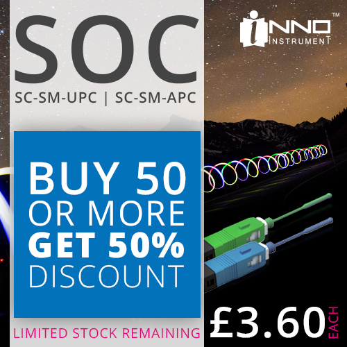 SOC SC UPC & SC APC Pigtails Half Price Sale!
